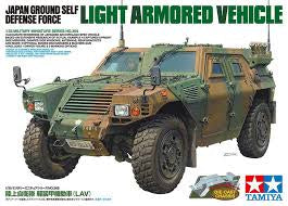 TAMIYA 1/35 JDF LIGHT ARMOURED VEHICLE W/ DIECAST CHASSIS
