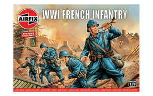 AIRFIX 1/76  WW1 FRENCH INFANTRY (x48)