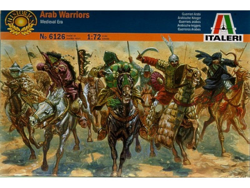 ITALERI 1/72 ARAB WARRIORS