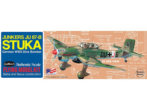 GUILLOWS BALSA JU-87B STUKA