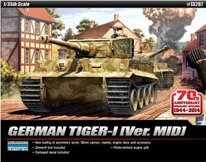 ACADEMY 1/32 TIGER 1 MID D-DAY