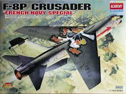 ACADEMY 1/72 F-8P CRUSADER FRENCH NAVY