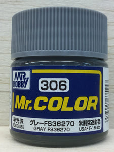 GUNZE MR COLOR C306 SEMI GLOSS GRAY FS36270