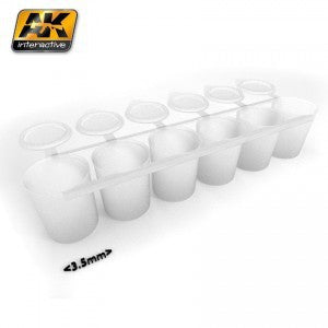 AK619 MIX ADDICT PAINT MIXING JARS