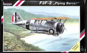 SPECIAL HOBBY 1/72 F3F-2 FLYING BARREL