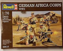 REVELL 1/76 GERMAN AFRICA CORPS