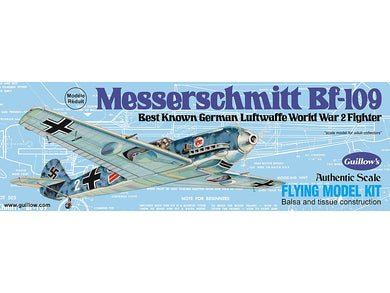 GUILLOWS BALSA MESSERSCHMITT BF-109