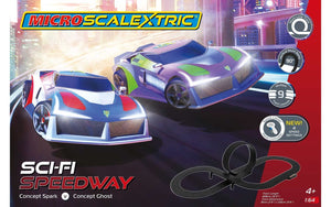 SCALEXTRIC SET MICRO SCI-FI SPEEDWAY