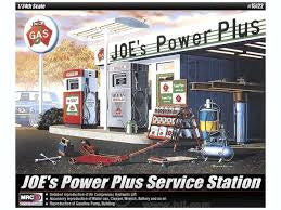ACADEMY 1/24 JOE'S POWER PLUS SERVICE STATION