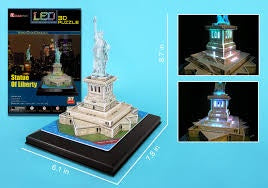 3D PUZZLE STATUE OF LIBERTY ( LED LIGHTS )
