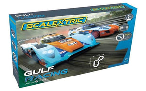 SCALEXTRIC SET GULF RACING
