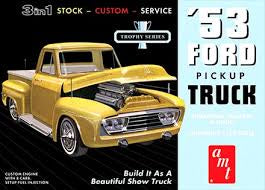 AMT 1/25 '53 FORD PICKUP