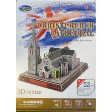 3D PUZZLE CHRISTCHURCH CATHEDRAL