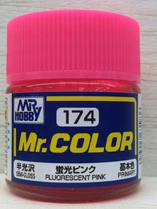 GUNZE MR COLOR C174 FLUORESCENT PINK