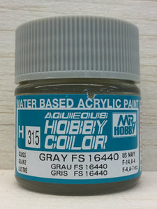 GUNZE MR HOBBY COLOR H315 GLOSS GRAY FS16440