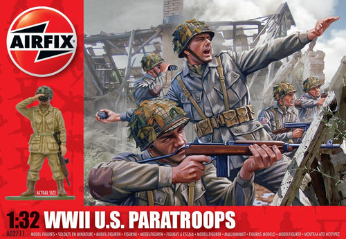 AIRFIX 1/32 US PARATROOPS