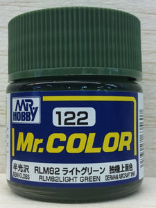 GUNZE MR COLOR C122 SEMI GLOSS RLM 82 LIGHT GREEN