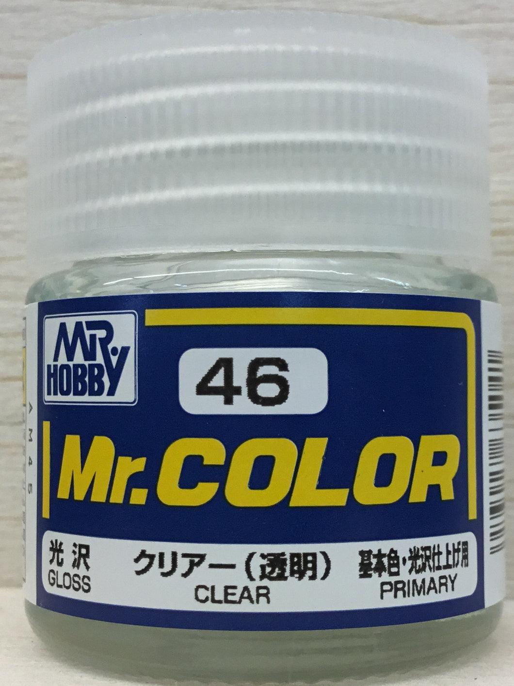 GUNZE MR COLOR C46 GLOSS CLEAR