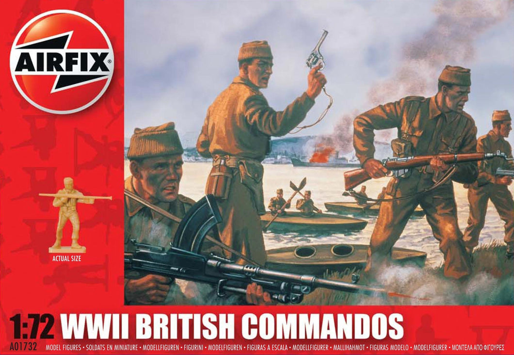 AIRFIX 1/72 BRITISH COMMANDOS