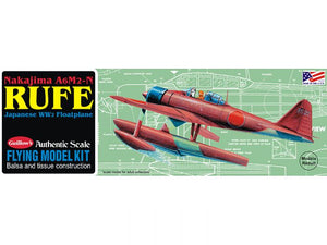 GUILLOWS BALSA A6M2-N RUFE FLOAT PLANE