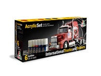 ITALERI INTERNATIONAL TRUCKS & TRAILERS PAINT SET
