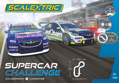 SCALEXTRIC SET V8 SUPERCAR CHALLENGE