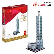 3D PUZZLE TAIPEI 101 TOWER