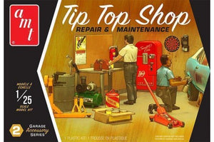 AMT 1/25 GARAGE ACCESSORY #2 TIP TOP SHOP