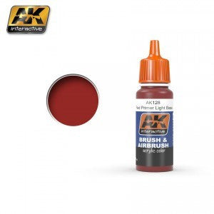 AK128 ACRYLIC RED PRIMER LIGHT BASE