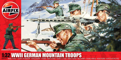 AIRFIX 1/32 GERMAN MOUNTAIN TROOP