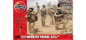 AIRFIX 1/48 BRITISH FORCES INFANTRY PATROL 8 FIGURES
