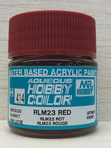 GUNZE HOBBY COLOR H414 SEMI GLOSS RLM 23 RED
