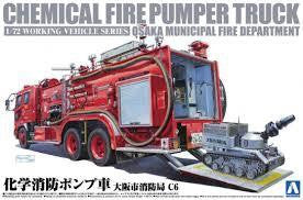 AOSHIMA CHEMICAL FIRE PUMPER TRUCK