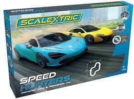 SCALEXTRIC SET MCLAREN SPEED HUNTERS