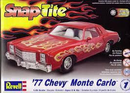 REVELL SNAP TITE '77 CHEVY MONTE CARLO
