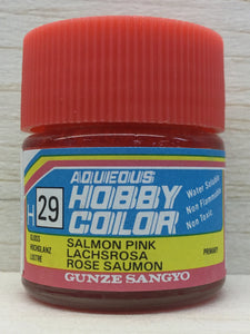 GUNZE MR HOBBY COLOR H29 GLOSS SALMON PINK