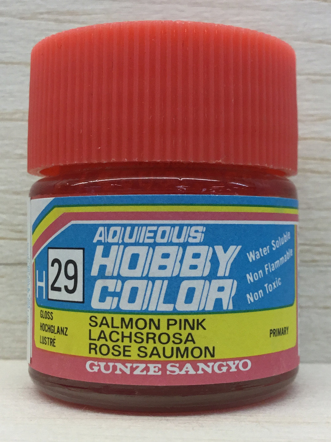 GUNZE HOBBY COLOR H29 GLOSS SALMON PINK