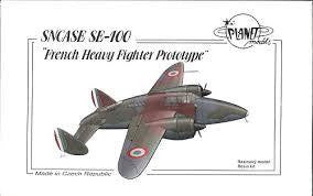 PLANET 1/72 SNCASE SE-100 FRENCH HEAVY FIGHTER
