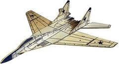WEST WINGS MIG29 FULCRUM BALSA PANEL GLIDER