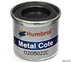 HUMBROL 14ml POLISHED STEEL  METAL COTE ENAMEL 27003