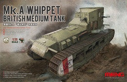 MENG 1/35 MK.A WHIPPET BRITISH MEDIUM TANK