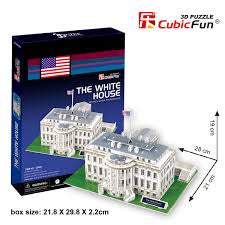 3D PUZZLE THE WHITE HOUSE ( LED