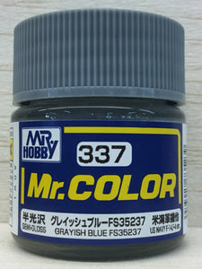 GUNZE MR COLOR C337 SEMI GLOSS GRAYISH BLUE FS35237
