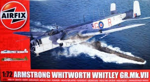AIRFIX 1/72 ARMSTRONG WHITWORTH WHITLEY GR.MK.VII
