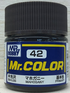 GUNZE MR COLOR C42 SEMI GLOSS MAHOGANY