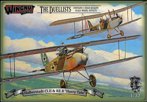 "WINGNUT WINGS 1/32 HALBERSTADT CL.II & RE.8 ""DUELLISTS"""