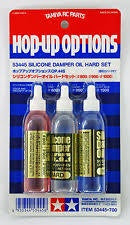 TAMIYA 53445 SILICONE DAMPER OIL HARD SET