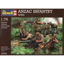 REVELL 1/76 ANZAC INFANTRY WWII