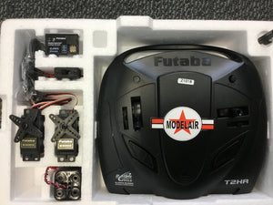 FUTABA 2HRXYB 2 channel 2.4GHZ Yacht Radio Package