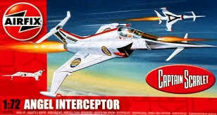 AIRFIX 1/72 ANGEL INTERCEPTOR
